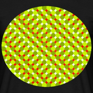 illusion circle T-Shirts - Männer T-Shirt
