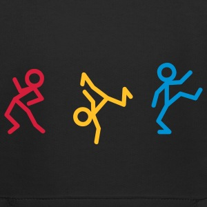 Dancing stick figure Kids' Tops - Kids' Premium Hoodie
