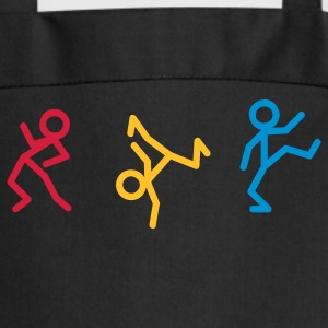 Dancing stick figure  Aprons - Cooking Apron