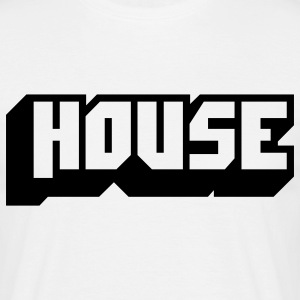 music house T-shirts - T-shirt Homme