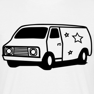 hippie van seventies T-Shirts - Men's T-Shirt