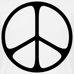 peace sign hippie Camisetas - Camiseta hombre