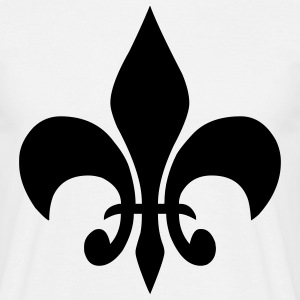 fleur de lis french lily T-Shirts - Men's T-Shirt