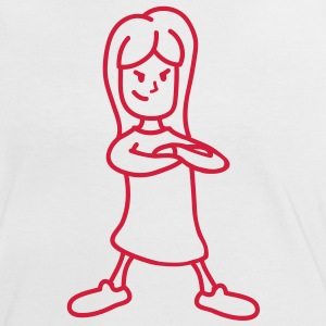 little_child_1c T-Shirts - Frauen Kontrast-T-Shirt