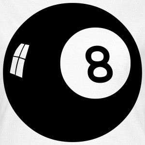 eight ball hippie seventies T-Shirts - Frauen T-Shirt