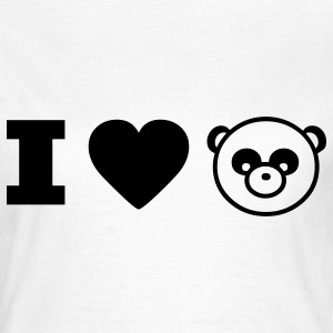 panda animal I love T-shirts - T-shirt Femme