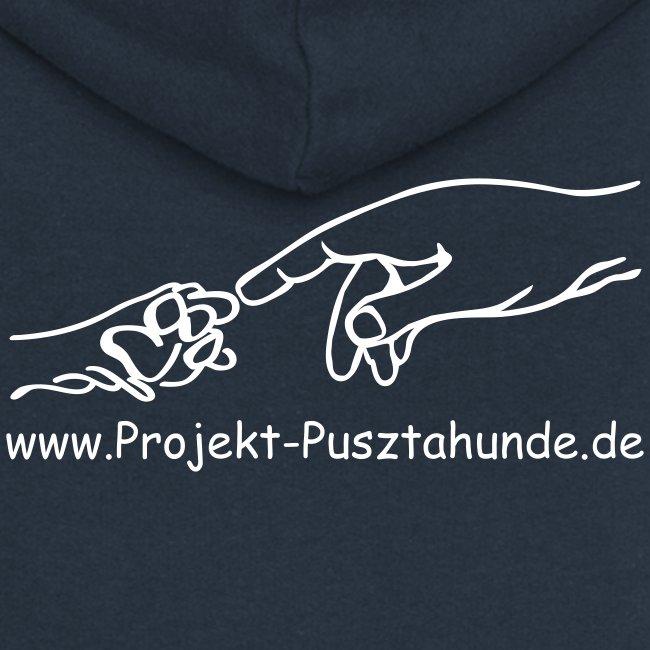 Frauen-Kapuzenjacke mit Logo