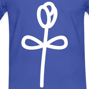 rose_flower_1c T-shirts - T-shirt contraste Homme
