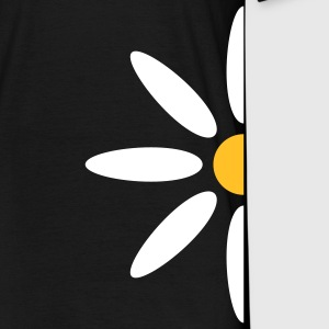 marguerite_flower_design_2c T-shirts - Herre-T-shirt