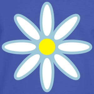 marguerite_flower_3c T-Shirts - Men's Ringer Shirt
