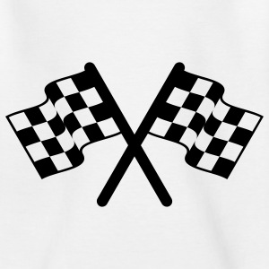 racing flags sport Tee shirts Enfants - T-shirt Ado