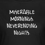 Motiv ~ Miserable Mornings - Girl