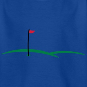 golf hole 3c Kids' Shirts - Teenage T-shirt