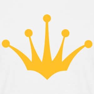 king or queen crown 4 1c T-Shirts - Men's T-Shirt