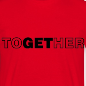 together_bt T-shirts - Mannen T-shirt