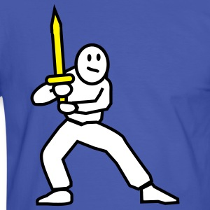 swordfighter T-Shirts - Men's Ringer Shirt