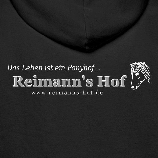 Herren Kapuzenpulli Reimann's Hof -Ponykopf klein-