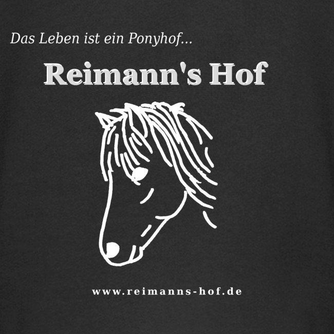 Kinder Kapuzenpulli Reimann's Hof -Ponykopf-