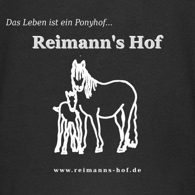 Kinder Kapuzenjacke Reimann's Hof -Stute mit Fohlen-