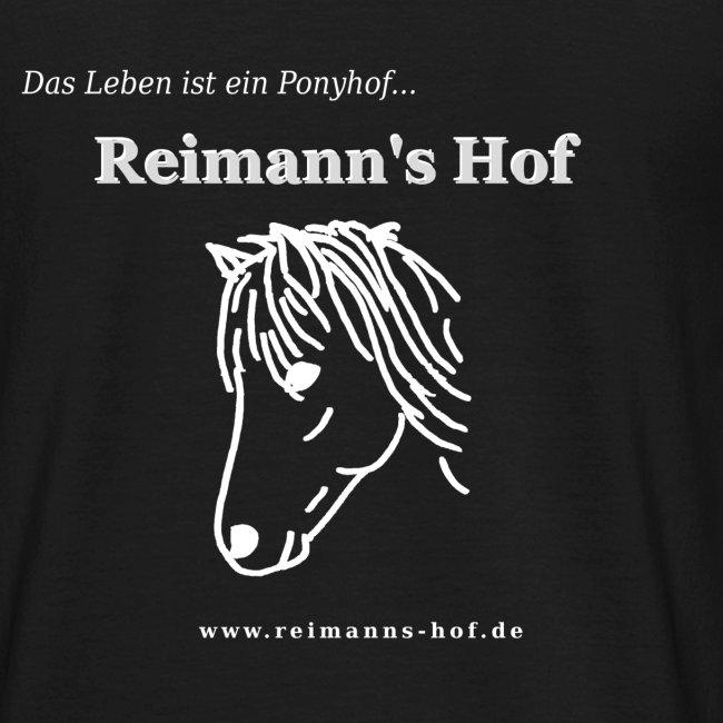 Herren T-Shirt Reimann's Hof -Ponykopf-