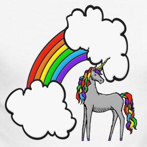 Rainbow Unicorn Long sleeve shirts - Men's Long Sleeve Baseball T-Shirt