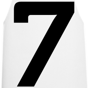 Number 7 (1c)++  Aprons - Cooking Apron