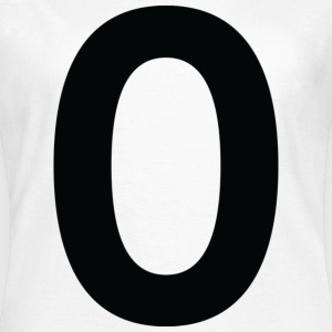 Number 0 (dd)++ T-Shirts - Women's T-Shirt
