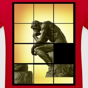 Le penseur The Thinker, decals puzzle game Kids' Shirts - Kids' Organic T-shirt