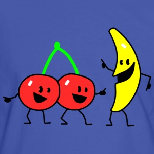 fruit salad two T-shirts - Mannen contrastshirt