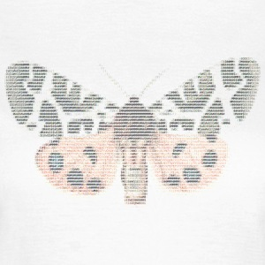 ASCII Butterfly - Frauen T-Shirt