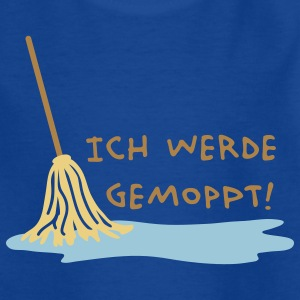 Ich werde gemoppt Kinder T-Shirts - Teenager T-Shirt
