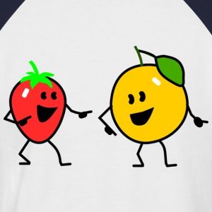 fruit salad one T-Shirts - Men's Baseball T-Shirt