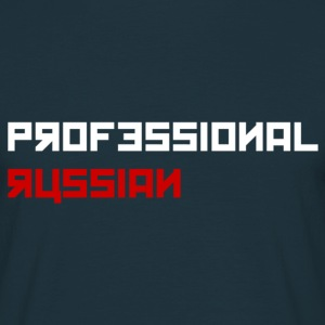 Professional Russian Blue - Mannen T-shirt