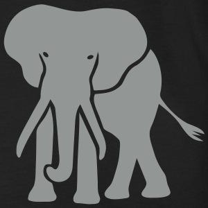 elefant elephant dickhäuter loxodonta rüssel tier animal