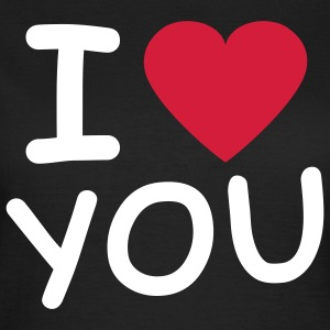 i_love_you_2c T-shirts - Vrouwen T-shirt