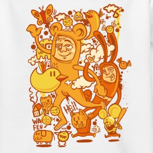 Golden orange  Shirts - Teenage T-shirt