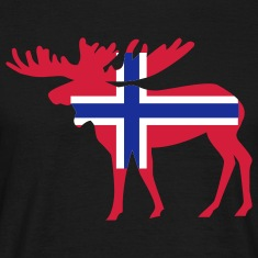 Norwegen - Elch T-Shirts
