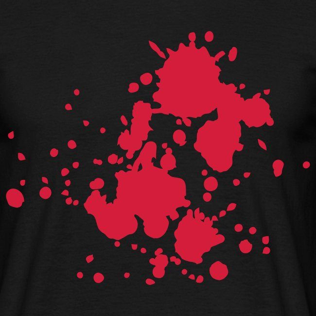 Wheel Dog Splatter  t-shirt