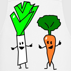 vegetable couple one Tabliers - Tablier de cuisine