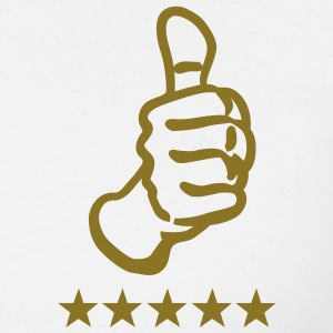 thumbs up 5 star T-Shirts - Männer T-Shirt
