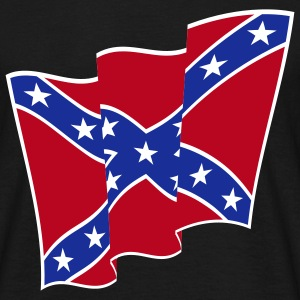 Rebel Flag / Dixie Flag  / Südstaatenflagge (3C) T-Shirt - Men's T-Shirt