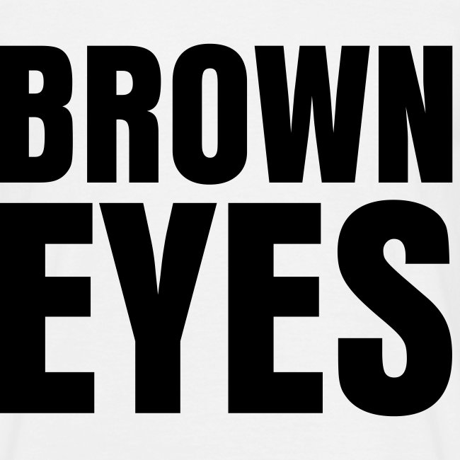 glee born this way brown eyes (M)