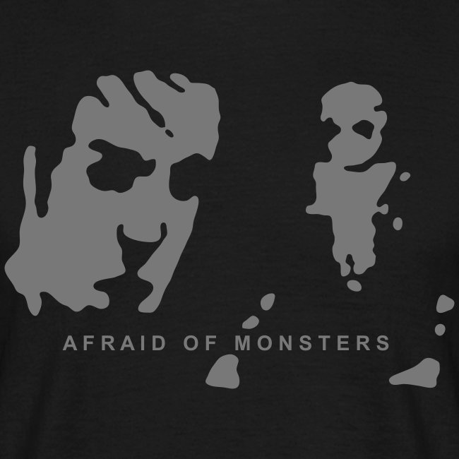 Afraid of Monsters + Team Psykskallar (back)