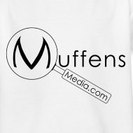 Design ~ Muffens Media Kids T-shirt: White