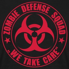 Zombie Defense Squad - T-Shirt