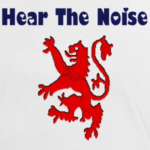 Hear The Noise Scottish Ladies Contrast T-Shirt - Women's Ringer T-Shirt