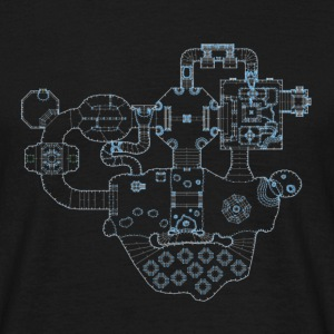 DooM map (by knarrenheinz) - Männer T-Shirt