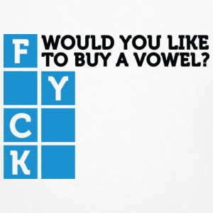 Want To Buy A Vowel 2 (dd)++ T-shirts - T-shirt bio Homme