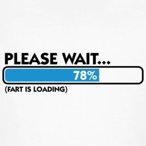 Fart Is Loading (dd)++ T-shirts - Mannen Bio-T-shirt