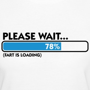 Fart Is Loading (dd)++ T-shirt - T-shirt ecologica da donna